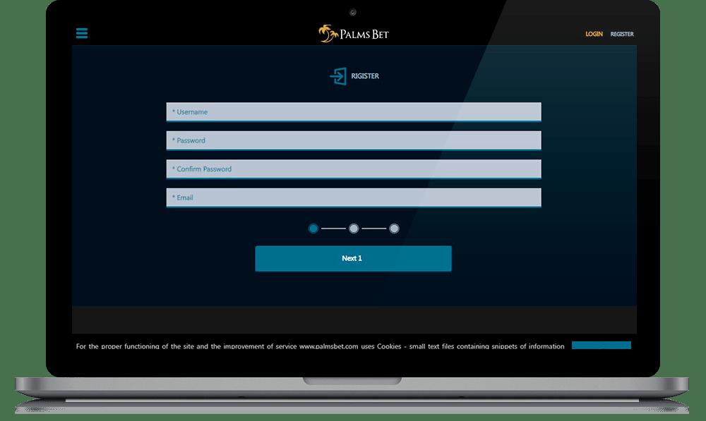 palmsbet registration